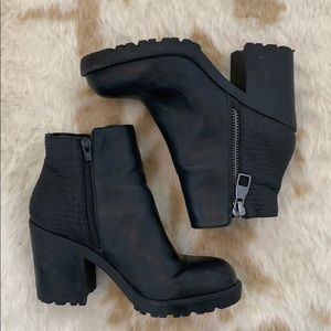 Black Booties from Mix. No. 6